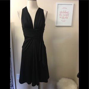 WHBM BLK DRESS SZ 2
